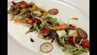 C Salad with Cranberry Dressing | Grow To Eat | Chef Shalaka | Sanjeev Kapoor Khazana