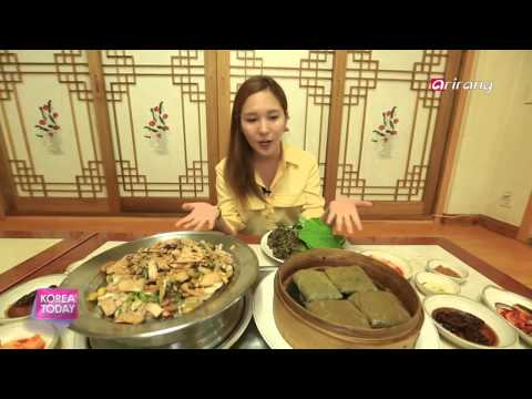 Korea Today - Cooking With The Lotus Plant '연 요리' 열전!