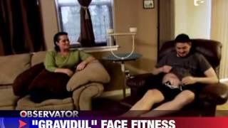 Gravidul s-a apucat de fitness 28 IULIE 2011