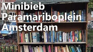 Minibieb Littlefreelibrary Paramariboplein Amsterdam