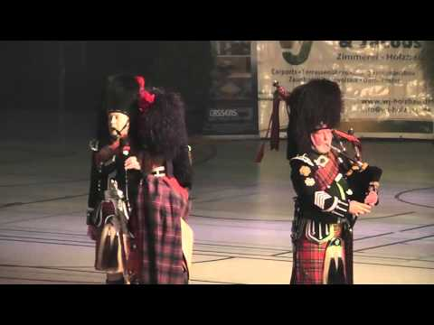 Show Festival Rastede 2016 - The Pipes and Drums of the Royal British Legion OS