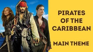 Pirates Of The Caribbean. Ukulele tutorial