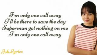 Charlie Puth-One call away(Lyrics)- (Kristel fulgar cover)