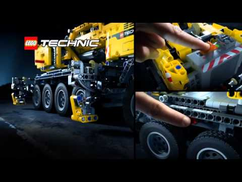 lego technic 42009 mobiler schwerlastkran dch youtube. Black Bedroom Furniture Sets. Home Design Ideas