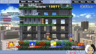Super Smash Bros. - Pikachu Classic Twitchthru - 5.3 intensity
