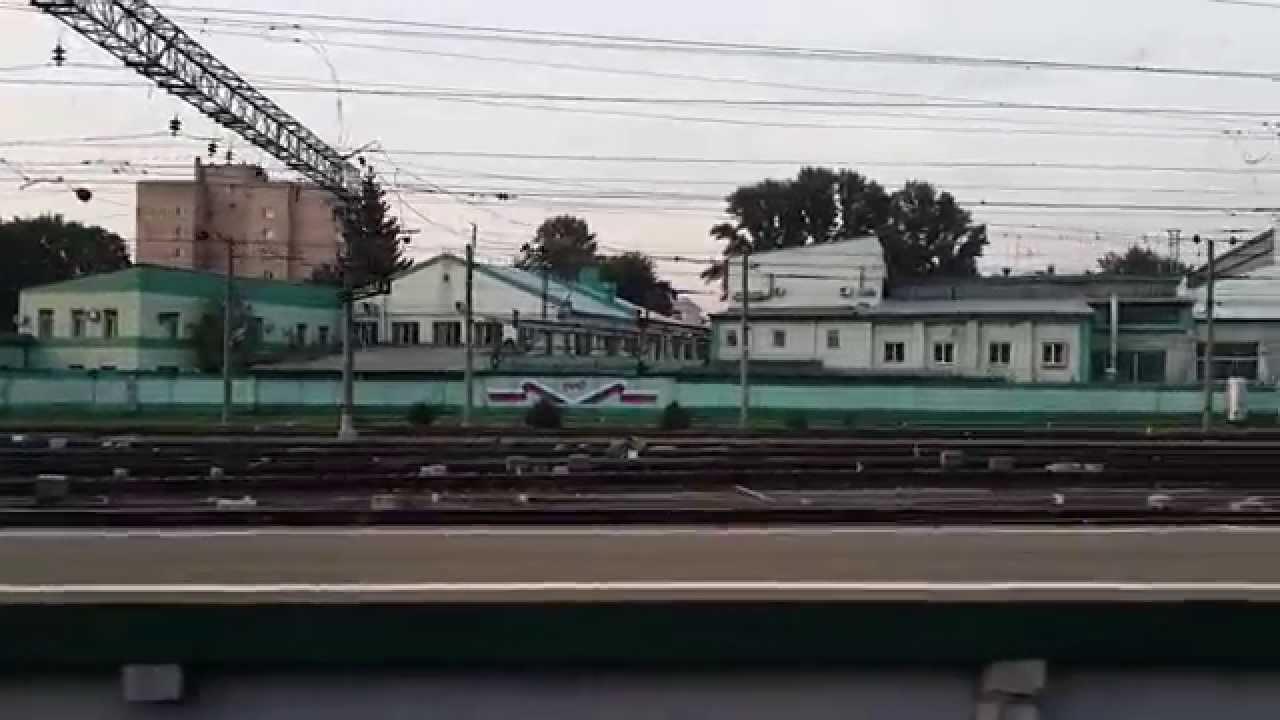 Прибытие на Казанский вокзал (Москва) - YouTube
