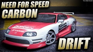 Drifting in Need for Speed Carbon - Toyota Supra