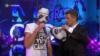 Cro - Easy (Live Wetten, dass...?) (06.10.2012)