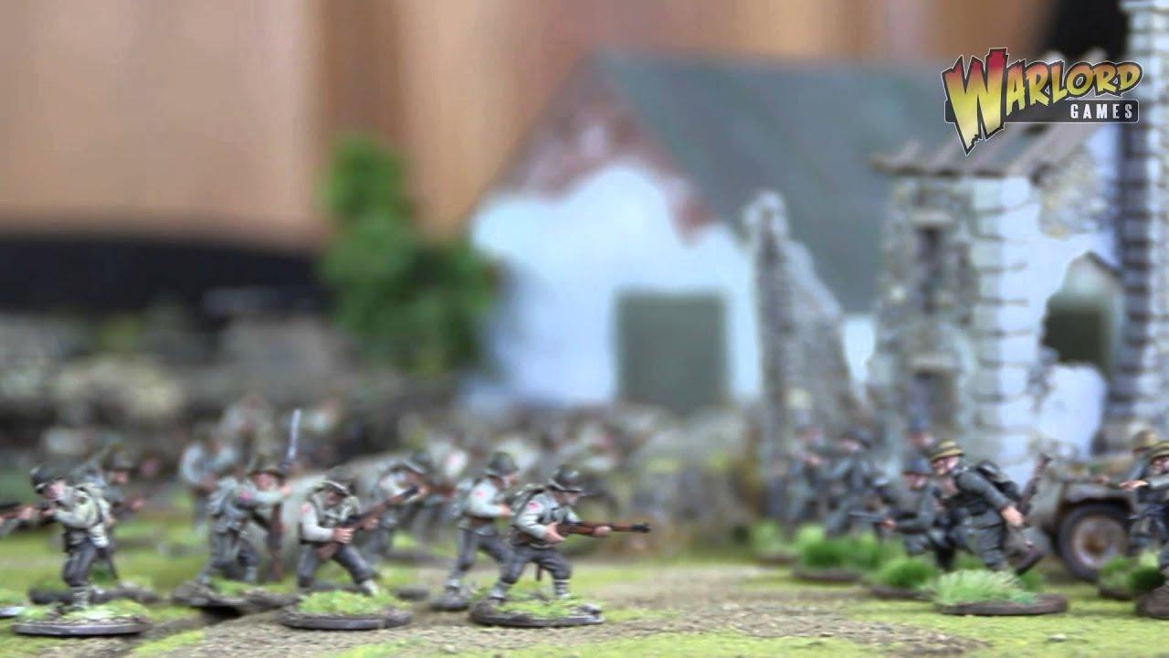 Bolt Action World War II Wargaming