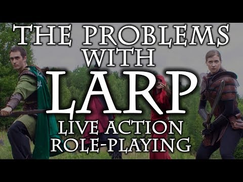 The PROBLEMS with LARP in swordfighting and HEMA
