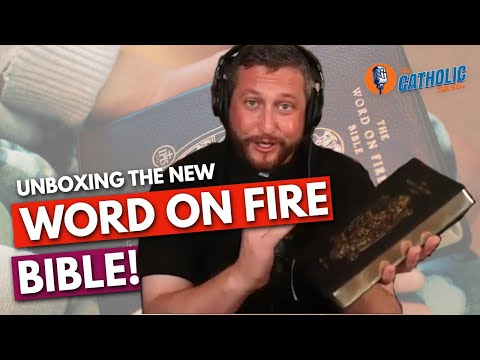 Unboxing The New Word on Fire Bible From Bishop Barron | The Catholic Talk Show
