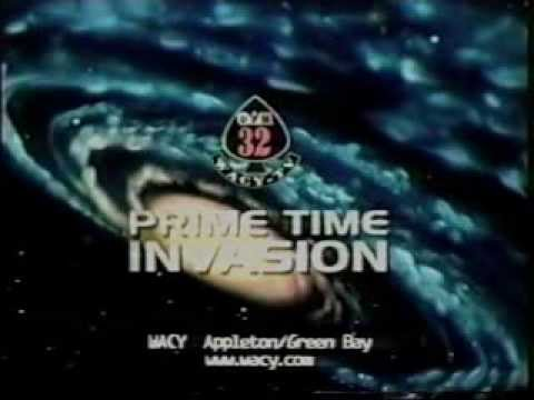 UPN 32 (Green Bay) promo: Prime Time Invasion Wednesday Lineup Spot