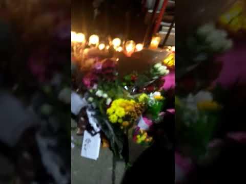 Katelyn Dawson vigil