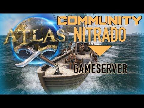 Riesiger Community Server von Nitrado 🔞 Let´s Play ATLAS 🌎Deutsch
