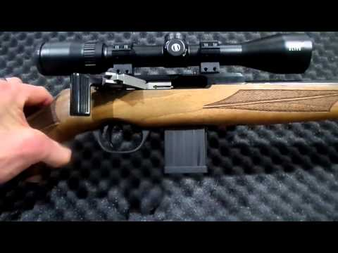 ISSC SPA .17 HMR Straight Pull Rifle Review / Unboxing in English!