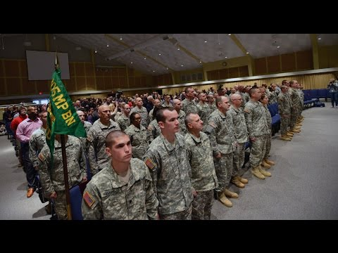 NCNG HHC  105th Military Police Battalion Deployment Ceremony