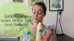 REVIEW: Vaseline Intensive Care Spray Moisturiser | 9Lives