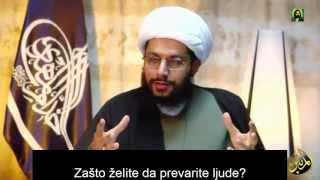 Šije ne proklinju sve Ashabe - Šejh Jaser Al Habib SRB SUBS
