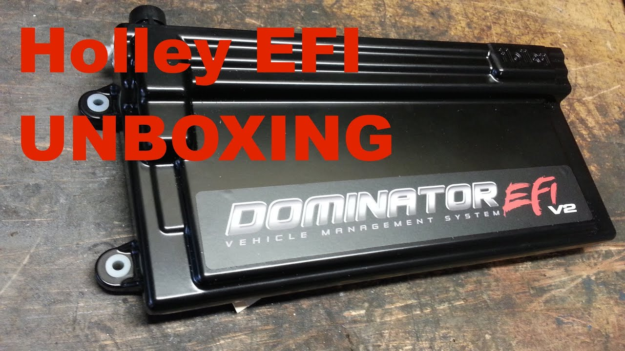 Holley Efi Dominator Unboxing For The Turbo 6 0 Lsx  U0026 39 92