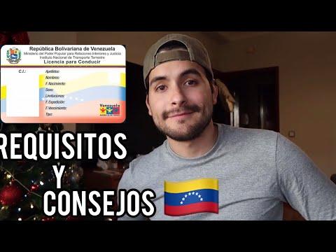 CANJE DE LICENCIA DE CONDUCIR VENEZOLANA (APLICA PARA OTROS PAISES)