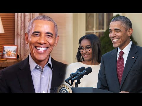 Why Barack Obama Says He's SCARED Of His Daughter Sasha