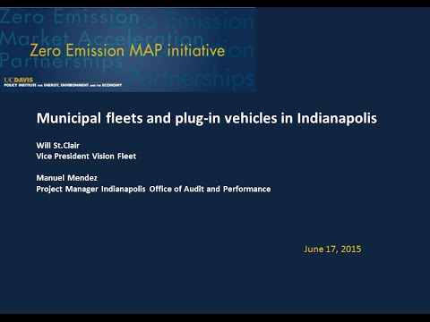 Munincipal Fleets and Plug-in Vehicles in Indianapolis