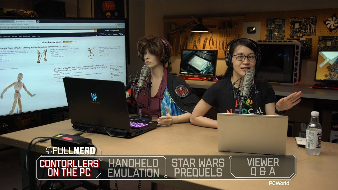 PC gaming on a controller, portable retro gaming emulation, and more | The  Half Nerd ep  102 5