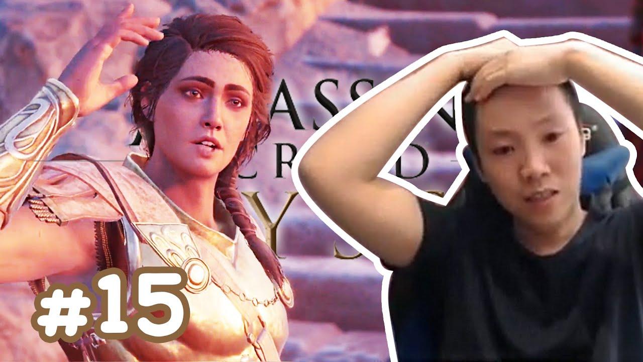 Kassandra Enhanced Facial Scars at Assassins Creed