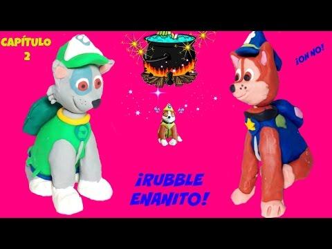 PATRULLA CANINA 🎇OH NO🎇 Rubble se hace pequeño  💫 Paw Patrol español