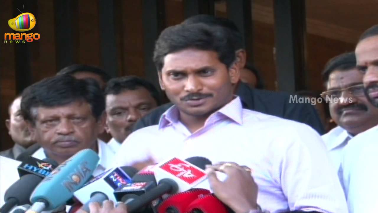 YS Jaganmohan Reddy emotional speech after overcome - Indian Election  results 2014