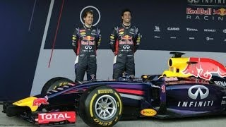 Infiniti Red Bull Racing RB10 Launch from Jerez