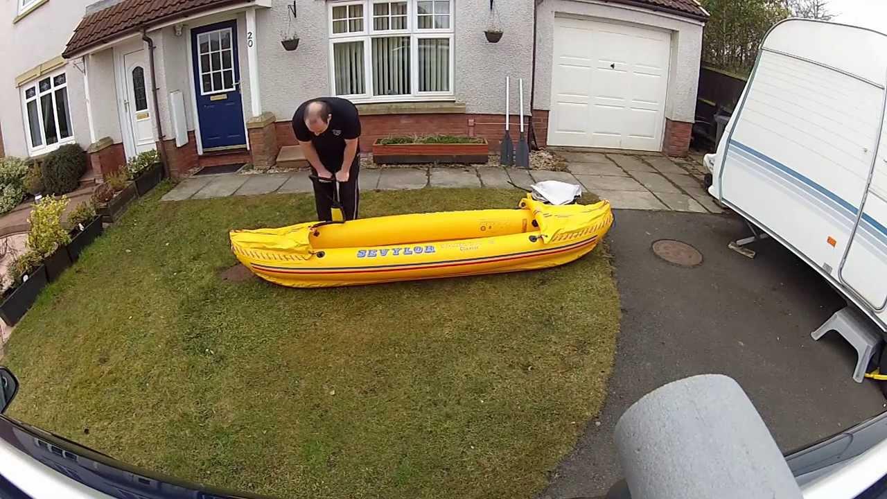 Sevylor Inflatable Kayak Skeg Suitable Tahiti and Riviera Ranges