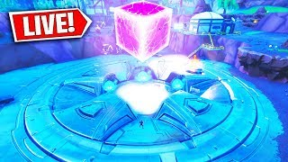 *NEW* FORTNITE LOOT LAKE EVENT RIGHT NOW! FORTNITE CUBE EVENT! (FORTNITE BATTLE ROYALE)