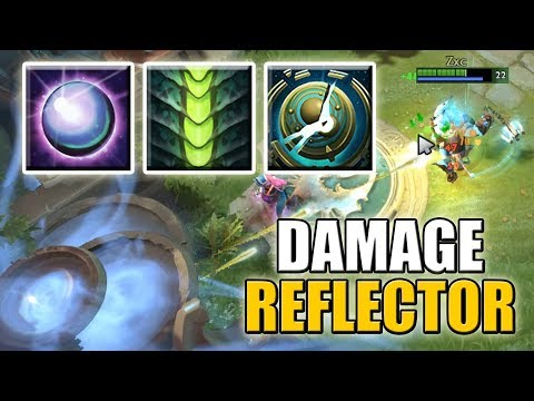 He is still alive? [Super Fat Damage Reflector with Dispersion and False Promise] Ability Draft