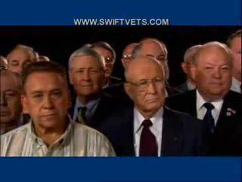 Swiftboat Veterans Ad on John Kerry - They Served (2004)
