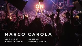 Marco Carola - Music On Closing 05.10.18 Live at Amnesia Ibiza