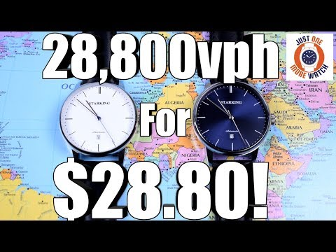 World's Cheapest 4Hz Watch! $28 Starking!