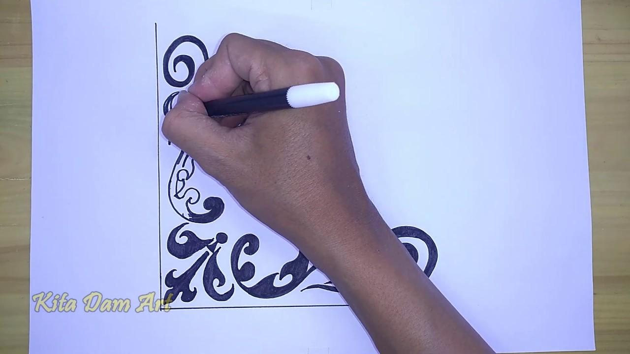 Hiasan Kaligrafi Arab Mudah Youtube