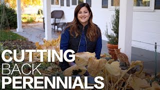 Cutting Back Perennials in the Fall 🌿🍂✂️ // Garden Answer
