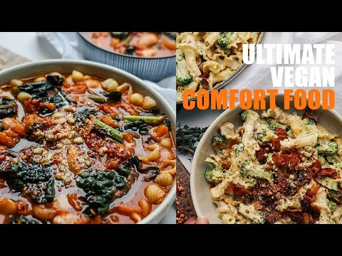 ULTIMATE VEGAN COMFORT FOOD  RECIPES🍂