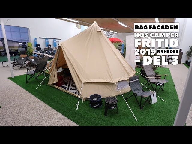 Bag facaden hos Camper Fritid - 2019 nyheder - del 3