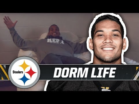 Randy Baumann & the DVE Morning Show - MTV Cribs - Steelers Training Camp Edition
