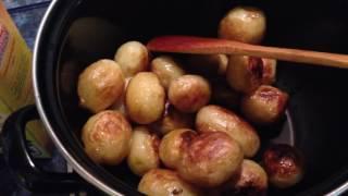 Молодая картошка в панировочных сухарях рецепт