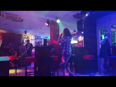Me singing Pixies - Where is my mind at karaoke Bar Divinity, Gran Canaria 11-04-2018