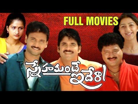 Snehamante Idera Full Length Telugu Movie | Akkineni Nagarjuna Movies | Nagarjuna, Sumanth, Bhoomika