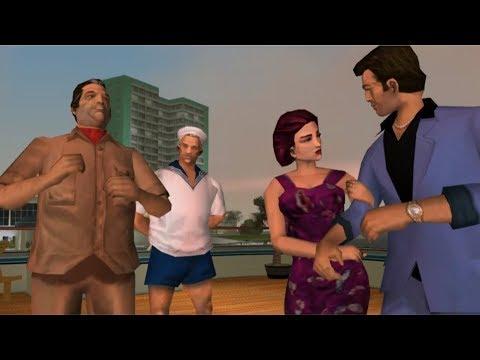 GTA Vice City - Mersedes Cortez'in Kulübe Girişini Engellersek Ne Olur?