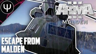 ARMA 3: Malden DLC — ESCAPE From Malden!
