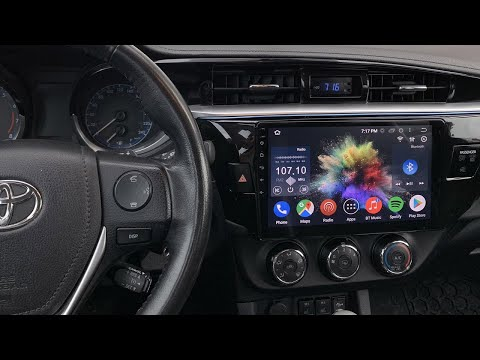 Toyota Corolla 2014-2016 Android CarPlay 10.2'' Stereo By GTA Car Kits