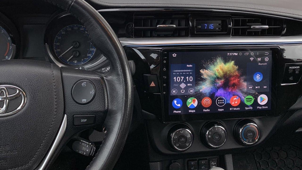 "10.2/"" Android 5.1 Car GPS Stereo Radio Navigation for Toyota Highlander 09-14"