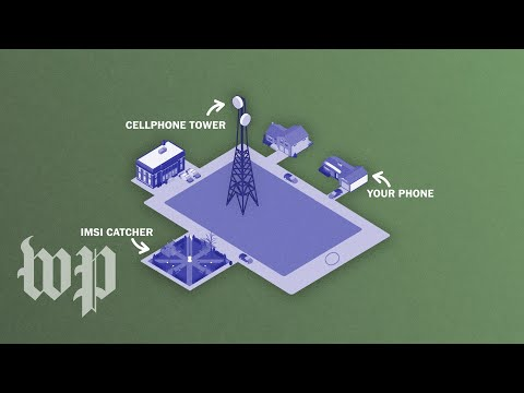 How StingRay Cellphone Surveillance Devices Work